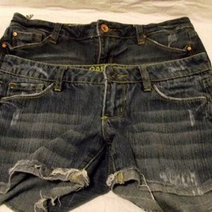 GARAGE Women's Jeans Shorts Sizes: 3 & 5
